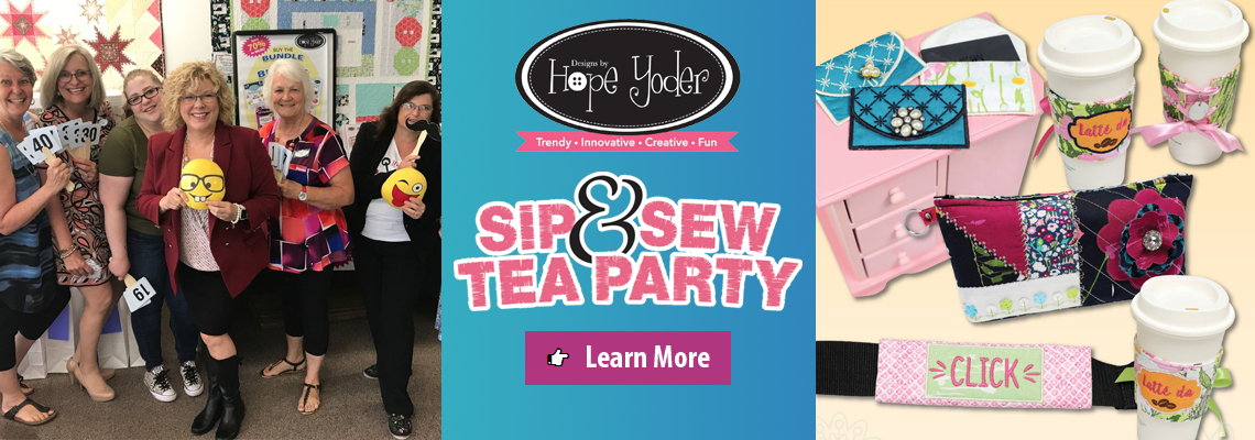 Sip N Sew - On the Go Gear with Hope Yoder